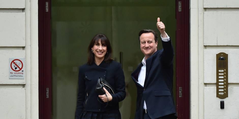 Royaume-Uni: victoire surprise des conservateurs de David Cameron