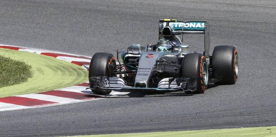 Rosberg s'offre le GP d'Espagne