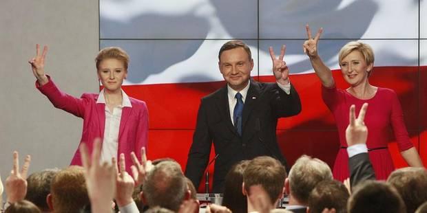 Pologne: le candidat conservateur Andrzej Duda en tête au premier tour de la présidentielle - La Libre