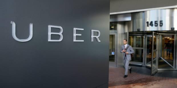 Une quarantaine de taximen piègent un chauffeur de la société Uber à Uccle - La Libre