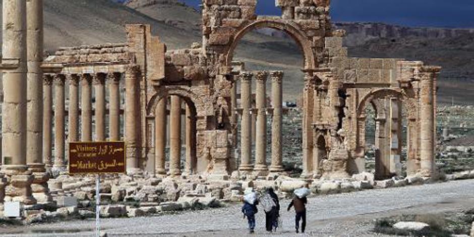 Syrie: l'EI contrôle la totalité de la cité antique de Palmyre