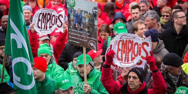 Manifestation nationale le 7 octobre - La Libre