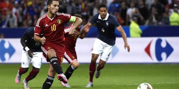 """Hazard : """"On a montré qu'on était une grosse équipe"""" - La Libre"""