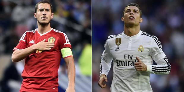 Quand Hazard dépasse Cristiano Ronaldo - La Libre