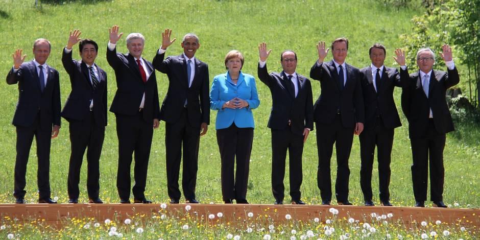 Russie, terrorisme, climat, femmes, santé: ce qu'il faut retenir du sommet du G7