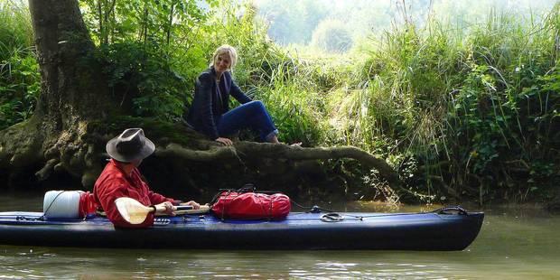 """""""Comme un avion"""" : Et au milieu glisse un kayak - La Libre"""