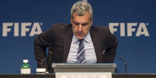 Fifa: démission du directeur de la communication Walter De Gregorio - La Libre