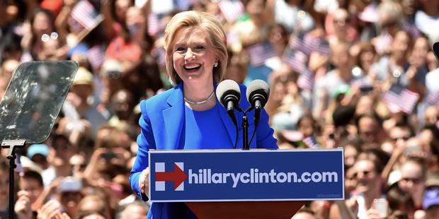 """Hillary Clinton: """"Je serai la plus jeune femme présidente des Etats-Unis"""" - La Libre"""