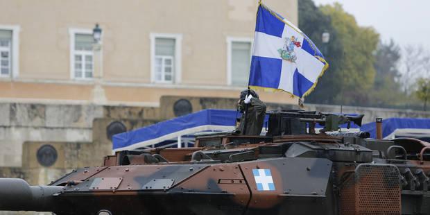 La Grèce championne des dépenses militaires en Europe - La Libre