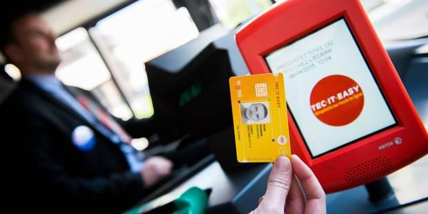 Mobib est un succès dans les bus wallons - La Libre