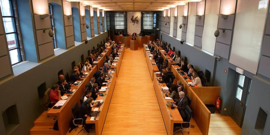 """Aboutissement de la réforme du """"Parlement de Wallonie"""""""