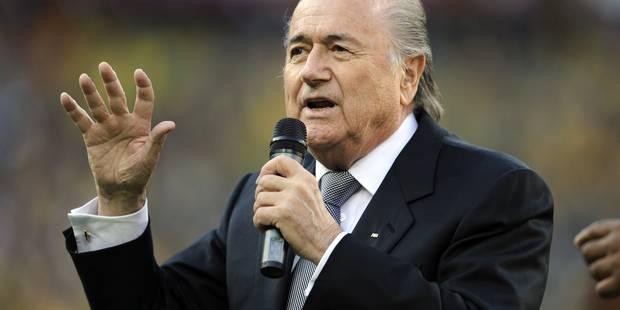 Blatter absent de la finale de la Coupe du monde féminine - La Libre