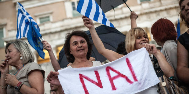 Grèce: le référendum ne correspond pas aux standards européens - La Libre