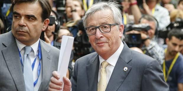 """Juncker: """"La zone euro a préparé un scénario détaillé pour une éventuelle sortie de la Grèce"""" - La Libre"""
