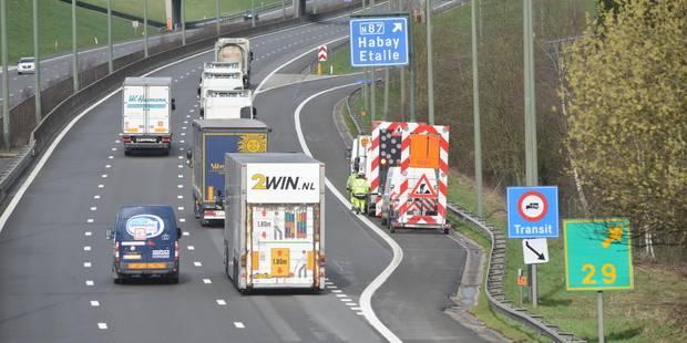 Accident sur l'E411 à Wellin: l'autoroute fermée en direction de Namur - La Libre