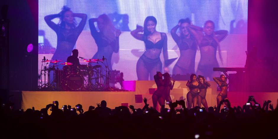 Ardentes: Nicki Minaj, chaud derrière (PHOTOS)