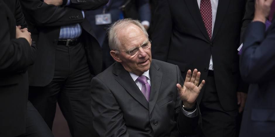 """Schaüble: """"Le Grexit aurait été la meilleure voie à suivre"""""""