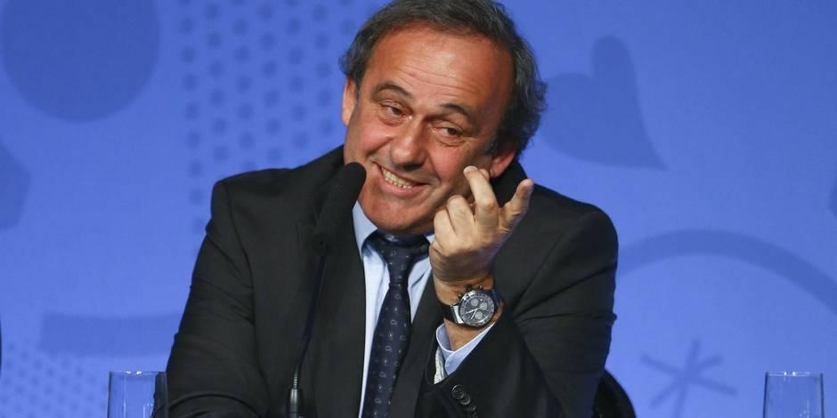 Michel Platini décidera dans les 15 jours s'il est candidat à la présidence de la Fifa