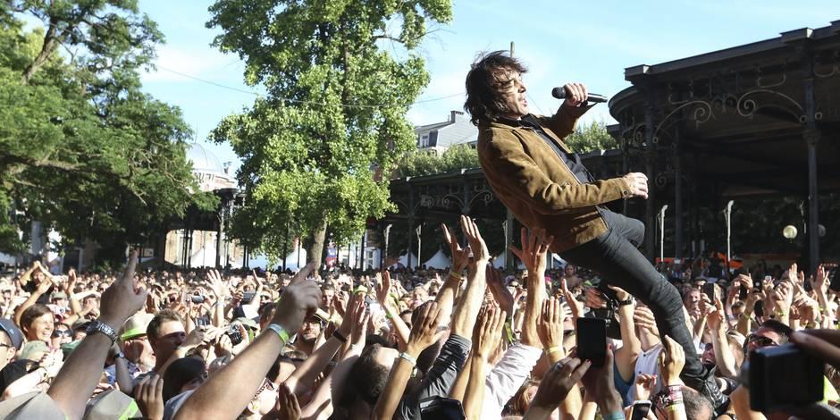 Quelque 170.000 festivaliers à Spa lors des 22e Francofolies