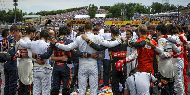 GP de Hongrie: émouvant hommage à Jules Bianchi sur la grille de départ - La Libre