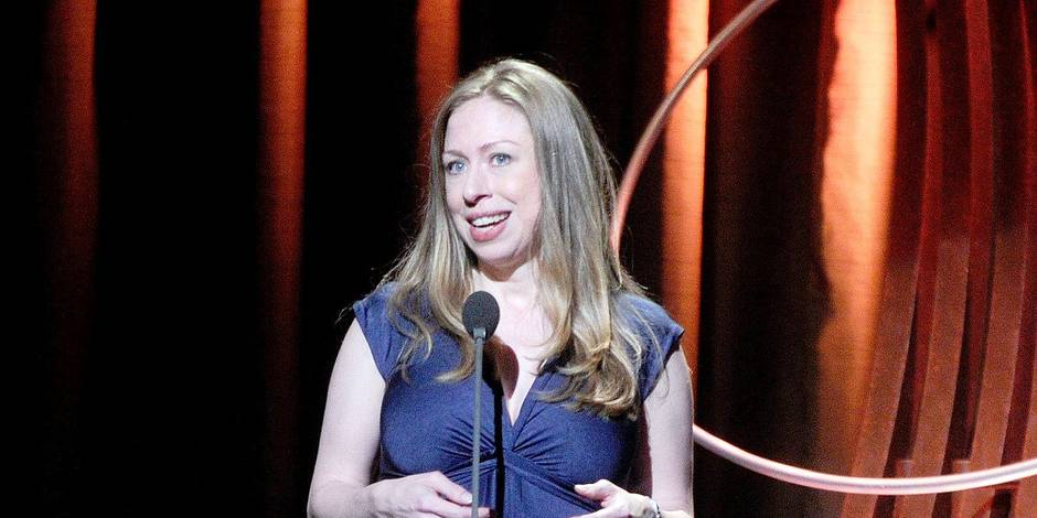 8th Annual Clinton Global Citizen Awards - New York. Chelsea Clinton speaks on stage at the 8th Annual Clinton Global Citizen Awards, New York URN:20985108 + PHOTO NEWS / PICTURES NOT INCLUDED IN THE CONTRACTS