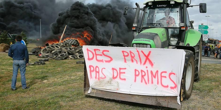 La tension monte entre agriculteurs européens