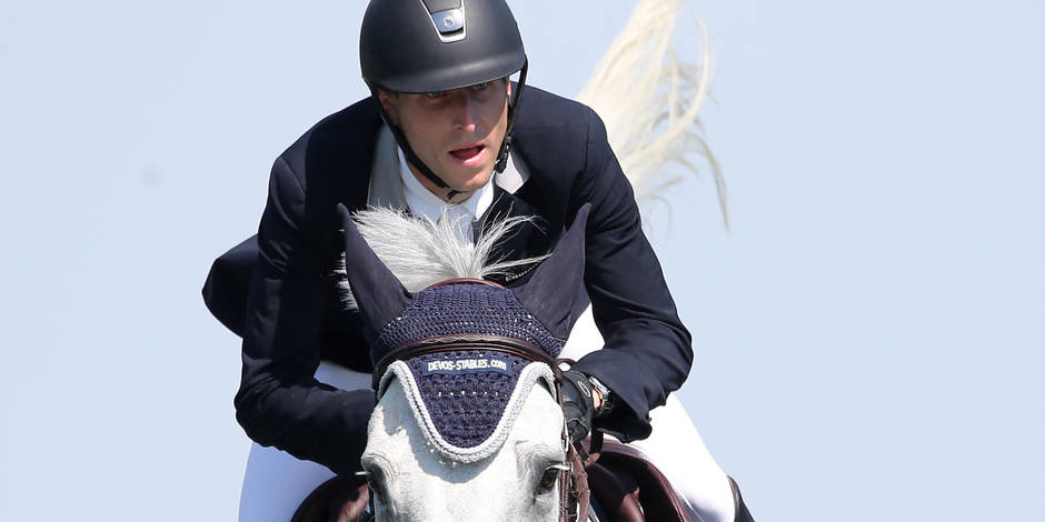 Pieter DEVOS (BEL) auf Dylano EQUITATION : Festival mondial equestre -CHIO Aix-la-Chapelle - Prix Nordrhein-Westfalen - 18/07/2014 © PanoramiC / PHOTO NEWS PICTURES NOT INCLUDED IN THE CONTRACTS
