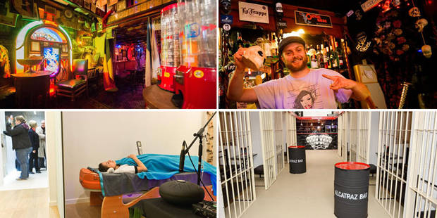 Les 10 bars les plus originaux de la capitale (PHOTOS) - La Libre