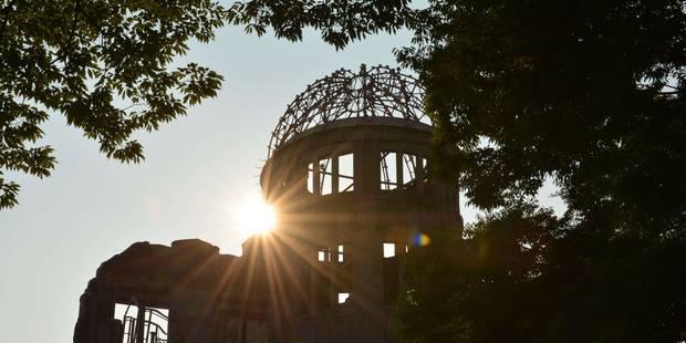 Le monde marque à Hiroshima les 70 ans du premier bombardement nucléaire - La Libre