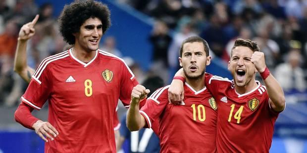 Les Diables rouges devancent l'Allemagne au classement FIFA! - La Libre
