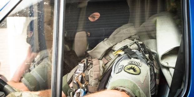 Assauts des unités spéciales à Saint-Josse-ten-Noode: la maison était vide - La Libre