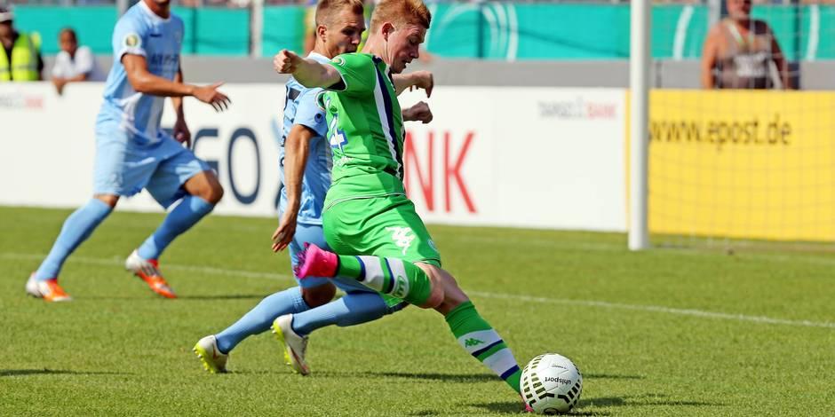 De Bruyne régale en Coupe d'Allemagne