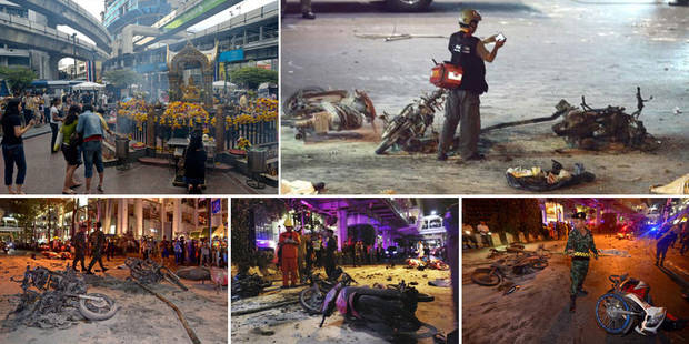 """Une bombe explose en plein centre de Bangkok: """"les auteurs visaient les étrangers"""" - La Libre"""