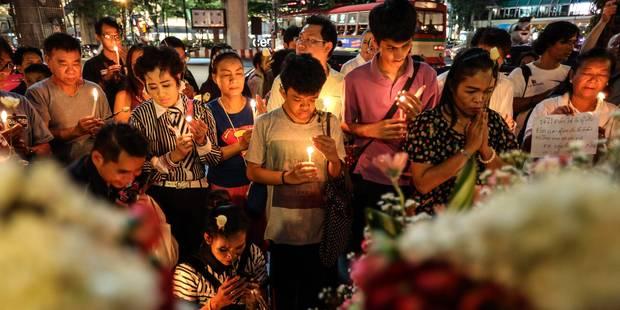 """Attentat de Bangkok: """"Plus de 10 personnes"""" seraient impliquées - La Libre"""
