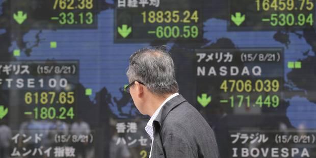 Les bourses perdent pied, l'investisseur doit garder le cap! - La Libre