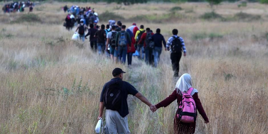 """Afflux de migrants en Macédoine : """"Les Etats membres de l'UE font preuve d'une attitude décevante"""" - La Libre"""