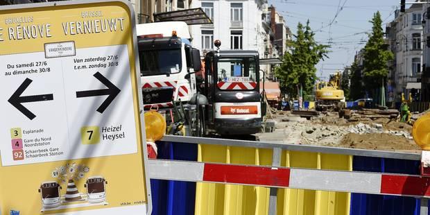 Vanderkindere, Rogier, Buyl... Découvrez les chantiers de la rentrée 2015 - La Libre