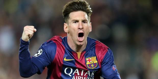 Lionel Messi sacré meilleur joueur UEFA 2014-2015 - La Libre