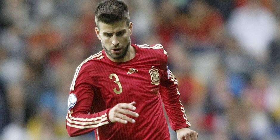 Le match Espagne - Angleterre délocalisé à cause de Gérard Piqué