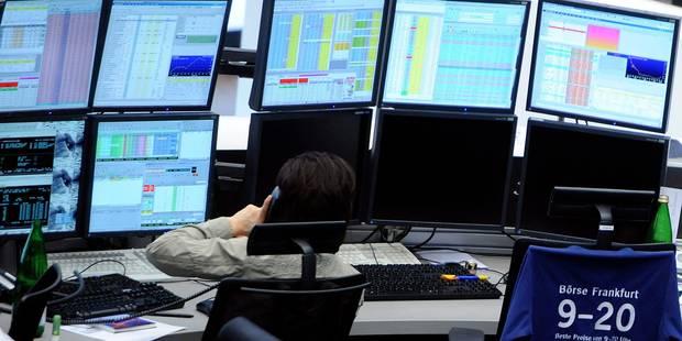 Les Bourses européennes continuent de se replier - La Libre