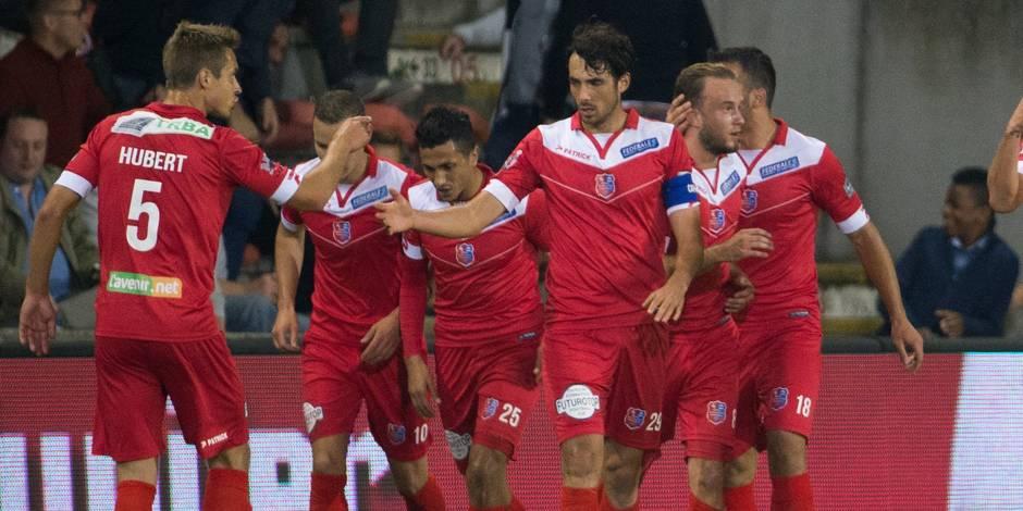 Mouscron s'offre sa première victoire face au FC Bruges (2-1)