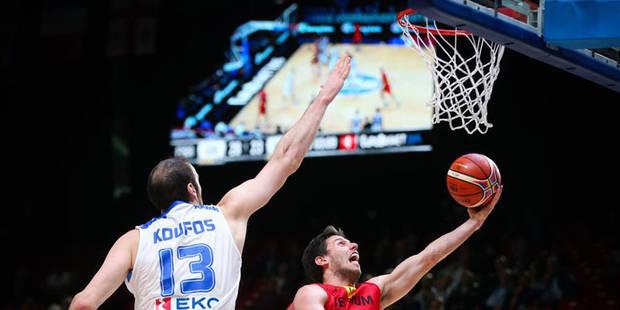 Euro de basket: les Grecs croquent les Belgian Lions (75-54) - La Libre