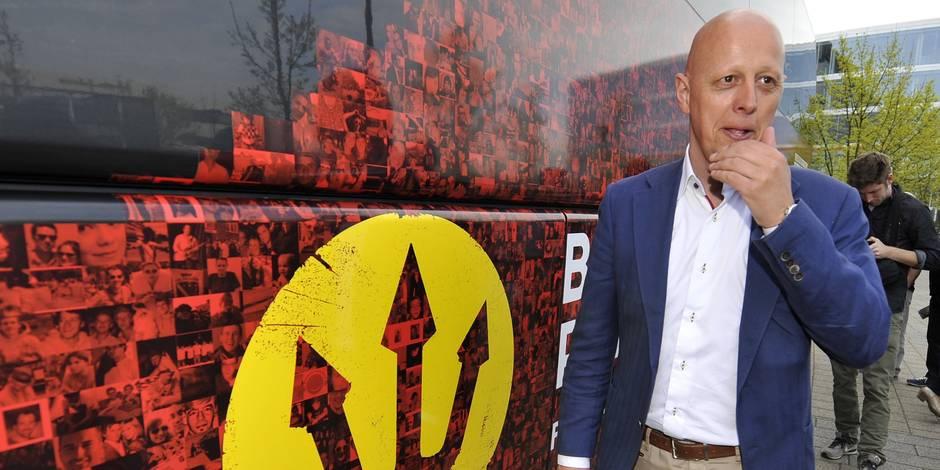 L'ex-patron de l'Union belge Steven Martens a un nouveau job dans le football