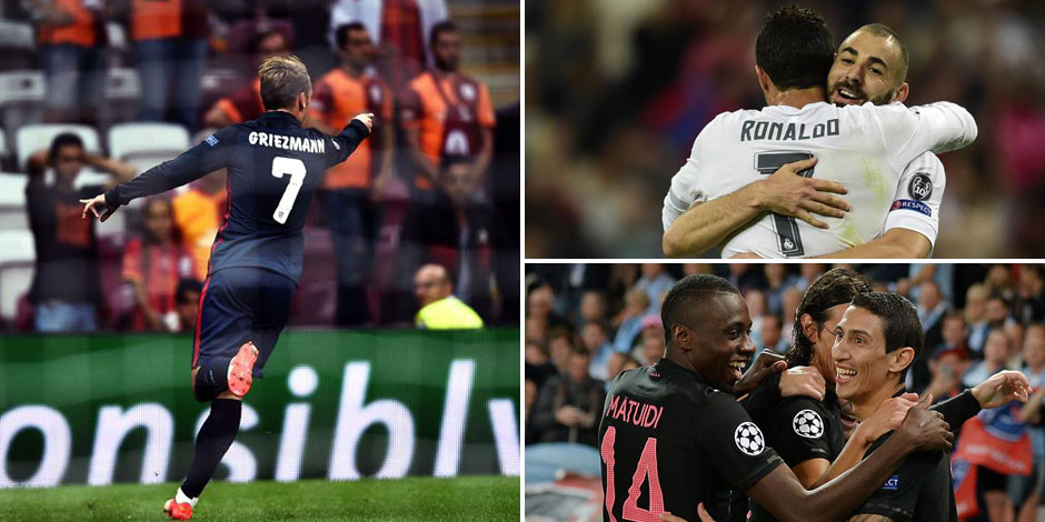 Champion's League: Ronaldo cartonne, Man U piégé, Paris sans forcer