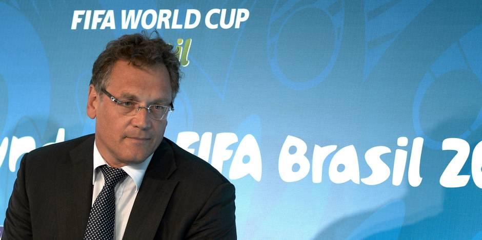 FIFA: Jérôme Valcke relevé de ses fonctions de secrétaire général