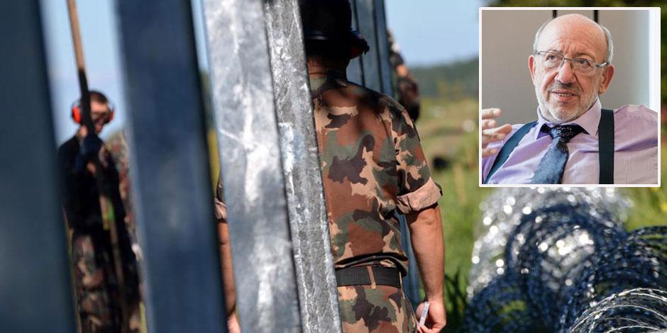"""L'armée autorisée à tirer sur les migrants en Hongrie: """"Ils fuient les balles pour risquer celles d'Orban"""""""