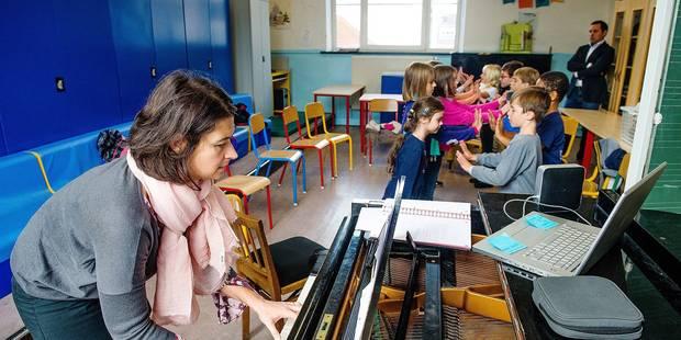 A l'école du Centre, on apprend en musique - La Libre