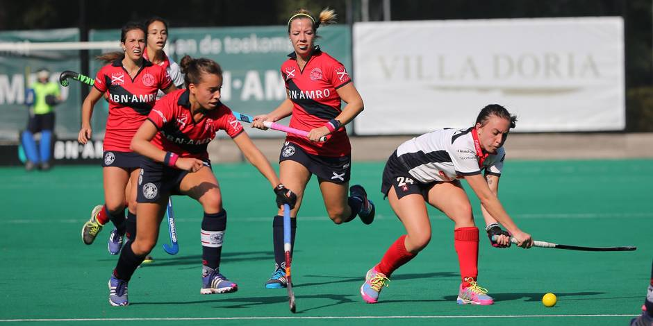 Hockey Dames : le Waterloo Ducks continue son chemin, le Dragons s'est promené face à Louvain - La Libre
