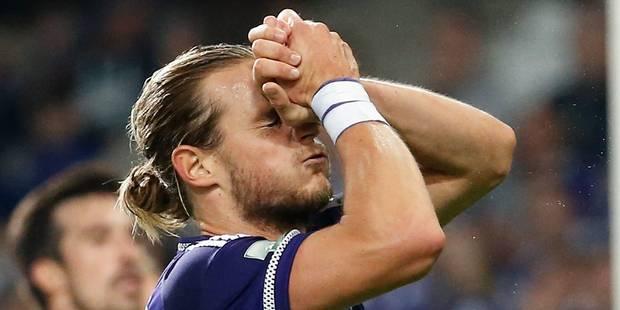 Anderlecht se saborde lui-même contre Malines (1-1) - La Libre