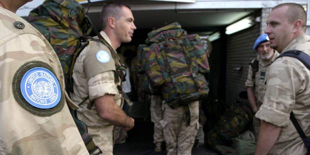 La Belgique, piètre contributrice aux missions de l'ONU, tente de remonter la pente - La Libre